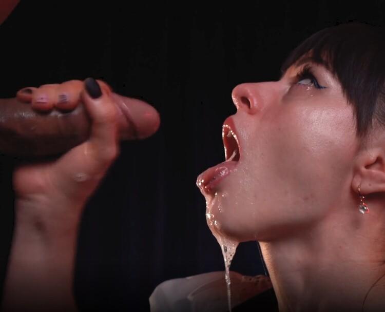 NatalieFlowers ~ Messy Sloppy Deepthroat for Cosplay Teen Girl ~ Chaturbate ~ FullHD 1080p