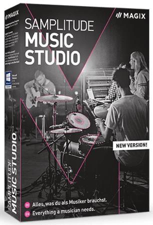 MAGIX Samplitude Music Studio 2021 26.1.0.16