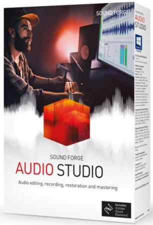 MAGIX SOUND FORGE Audio Studio 15.0 Build 40