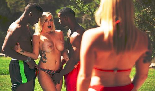 Marica Chanelle, Chrystal Sinn - Star In Interracial Orgy (HD)