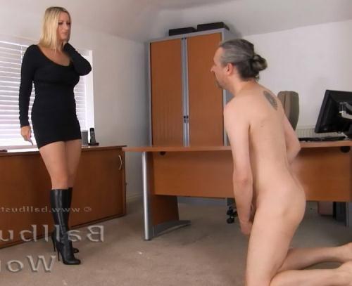 Mistress Nikki Whiplash - CRUEL OFFICE BALLBUSTING (FullHD)
