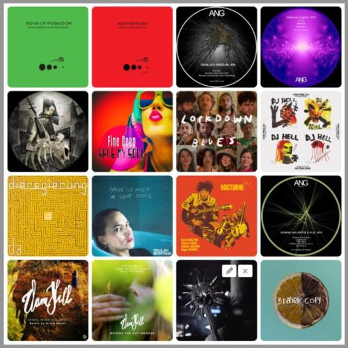 Electronic, Rap, Indie, R&B & Dance Music Collection Pack (2021-02-08)