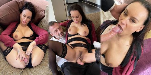 Eva May - Boardroom bitch dressed down with dick (FullHD)