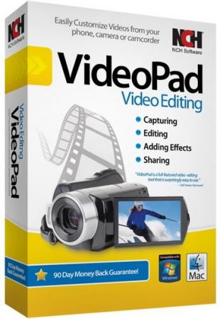 NCH VideoPad Video Editor Professional 10.34 Portable