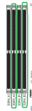 9f7i4oln - CPU+RAM LED leuchten abwechselnd nach tausch-B450 Aorus