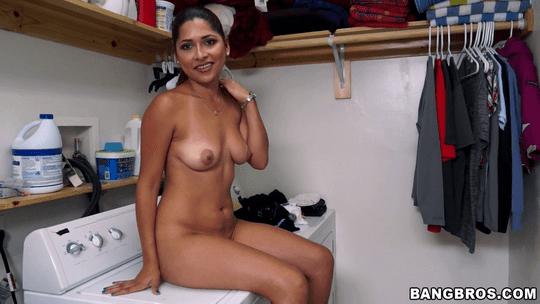 Shy Latina Camila Casey Strips Nude and Gets Fucked - MyDirtyMaid