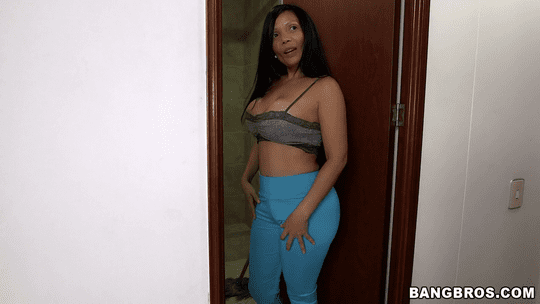Latina MILF Casandra Cleans and then Fucked - MyDirtyMaid