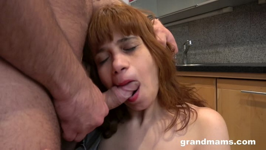 Horny Housewife Kittyla Fucking in the Kitchen - GrandMams